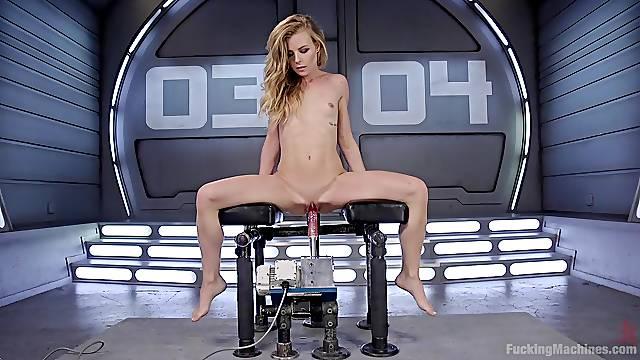 Beautiful Nicole Clitman masturbates using her favorite sex toys