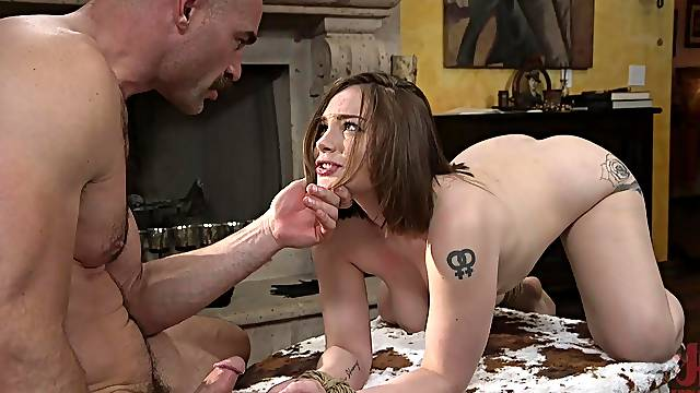 for horny Charles Dera one penis is enough to satisfy her sexual needs