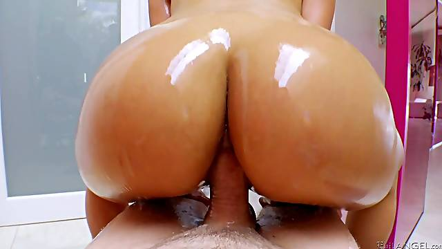 oiled and wet pussy of Luna Star is everything her friend wants to touch