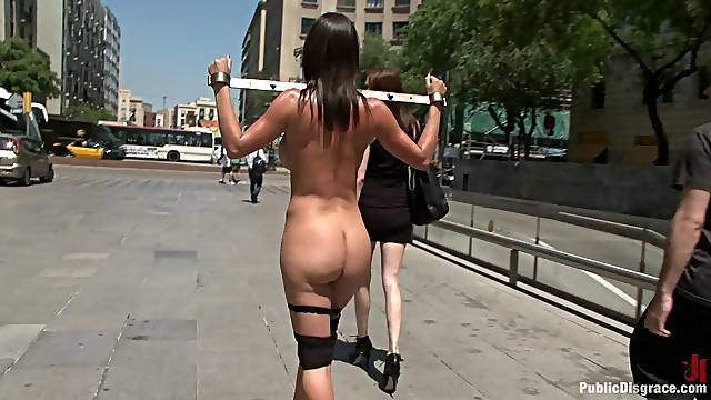 Outside sex and a humiliation are amazing with horny Franceska Jaimes