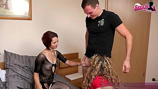 german girlfriend homemade threesome ffm