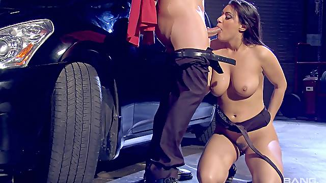 passionate Charley Chase gets her pussy pounded by her boyfriend