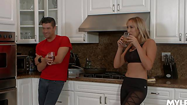 after oral sex Brett Rossi is ready to take a dick deep inside her pussy
