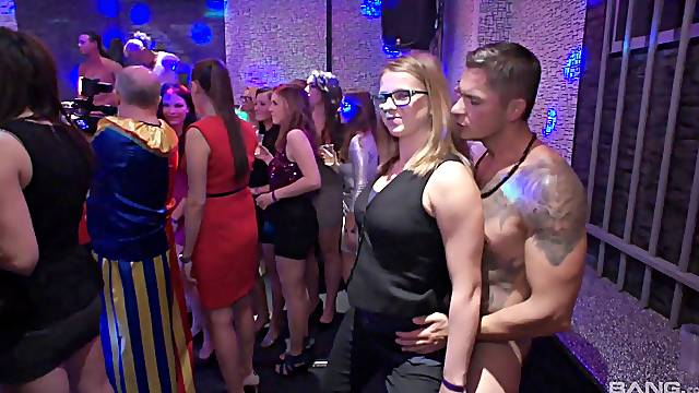after party and hard group sex is all that those people need
