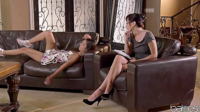 Gianna Dior tells her friend about having wild sex fantasies