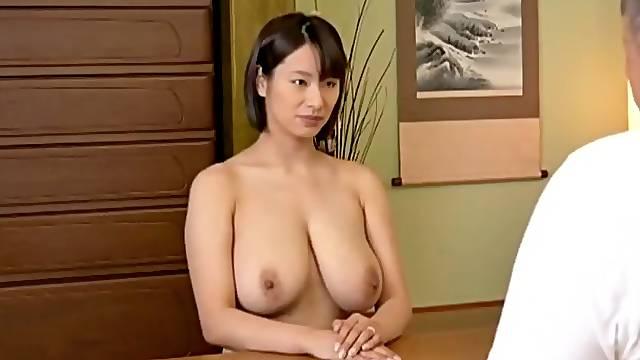 Big Japanese boobs.