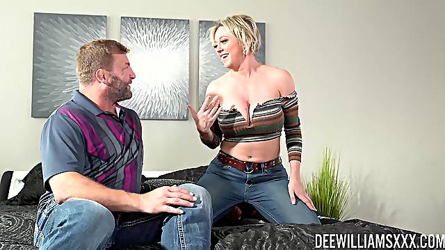 Mature wife Dee Williams loves to be fucked by her husband
