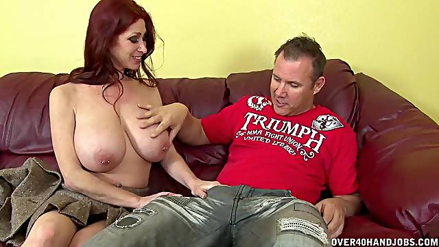 Cheating redhead wife Tiffany Mynx makes her lover ejaculate