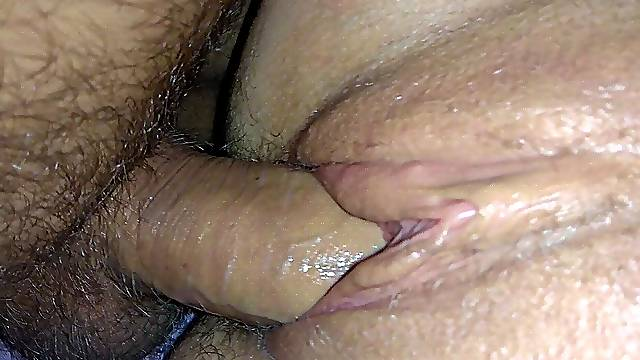 Flooded my pussy beautifully