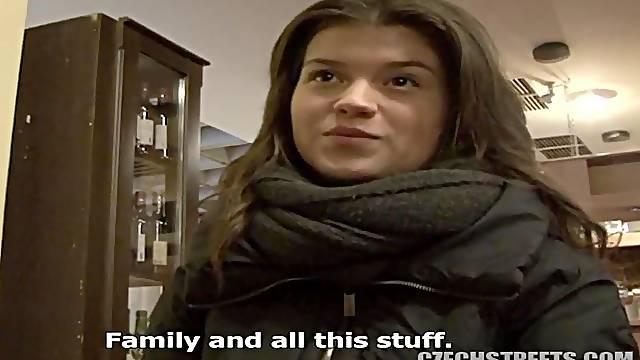 Slovakian girl fucks for money