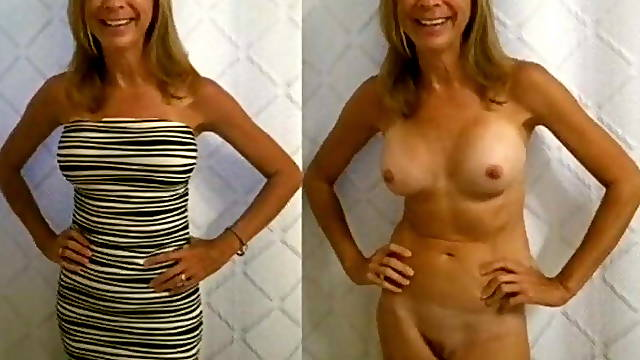 Compilation of nude and dressed ladies