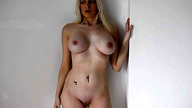 Big tit blonde humiliated by police and stripped