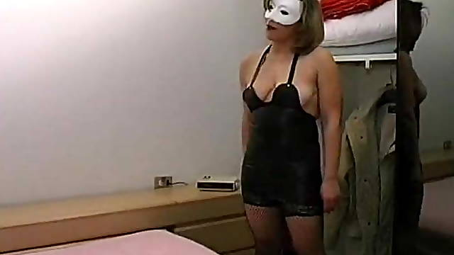 Lady takes revenge on her husband a cuckold with two men