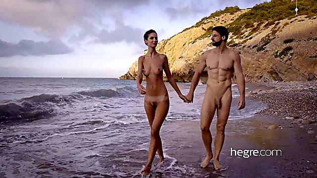 Tantric massage on the beach
