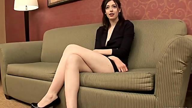 Leggy beauty Chloe Faye fucks a BBC