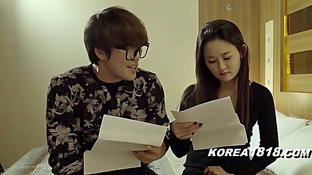Real erotic scenes with korean beauties