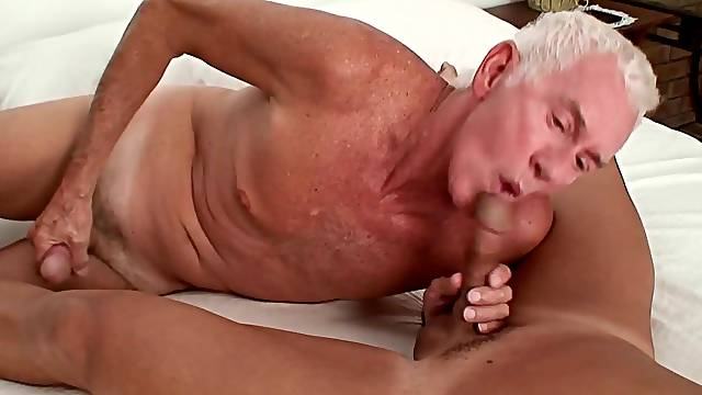 Mature slut wife and two bisexual old guys