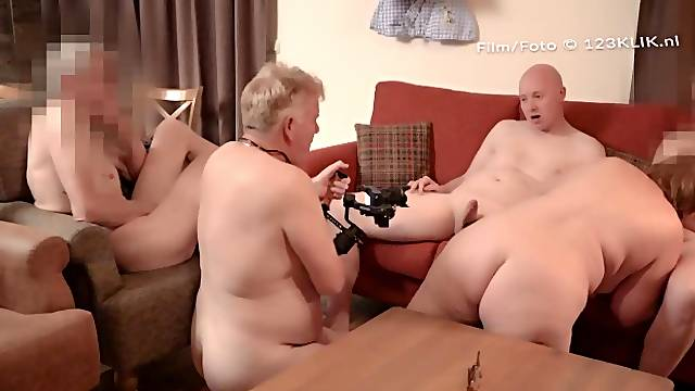 Mature bisexual group sex
