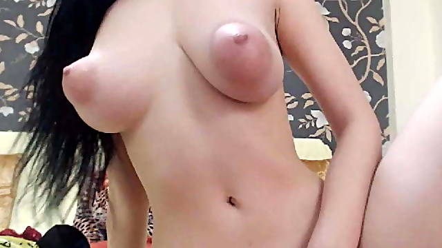 Asian babe with puffy nipples