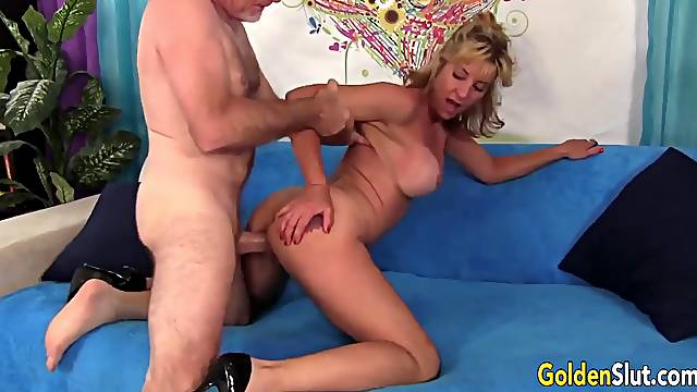 Blonde GILFs Love Taking a Cock From Behind Compilation