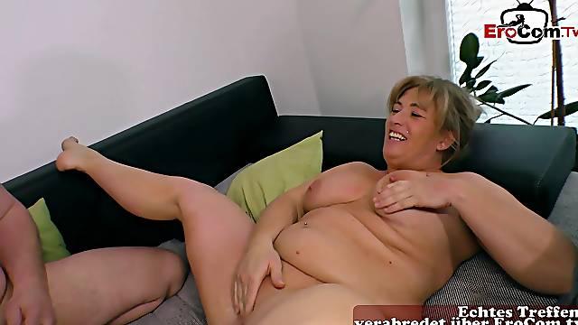 Real big natural boobs for german mature mom