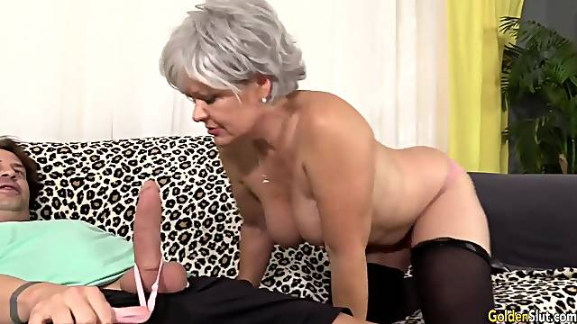 Mature Lady Gives Her Lover Some Nice Head Compilation
