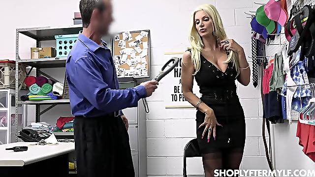 Hardcore fucking in the office with provocative MILF Ana Rose
