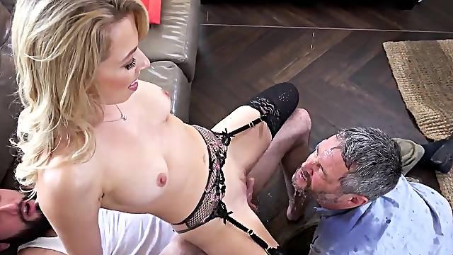 Amazing cuckold fantasy porn with a slutty wife