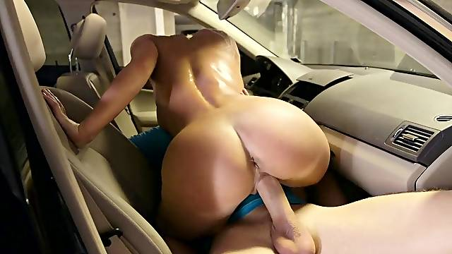 Back seat hardcore experience for a married woman