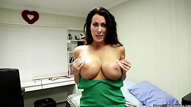 Premium mature with huge boobies, insane POV oral tryout