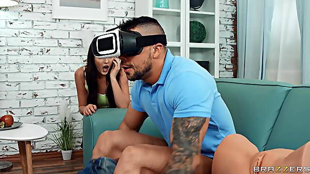 VR experience turns into reality thanks to his stepsis
