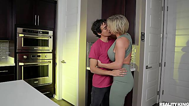 MILF pleases stepson with the fuck of his life