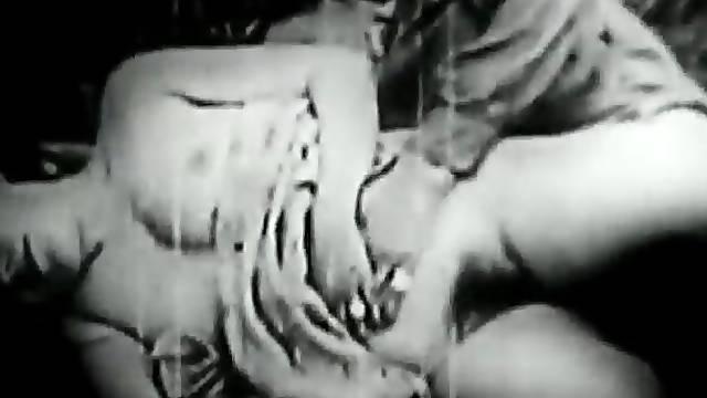 Vintage hardcore sex with horny ladies