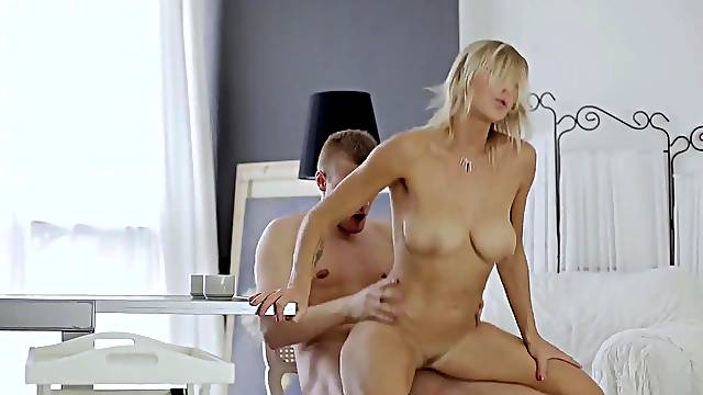 Hot girlfriend fucked and made to swallow