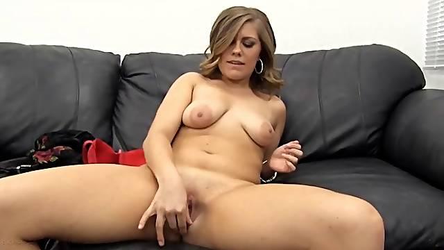 Cute blonde amateur is a dick sucking slut