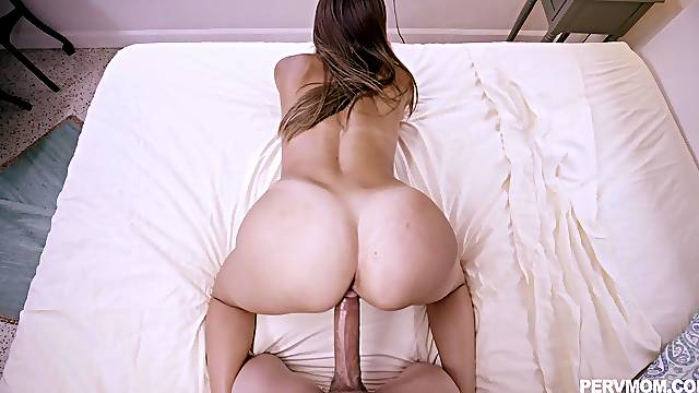 Flawless doggy style in POV for top Havana Bleu