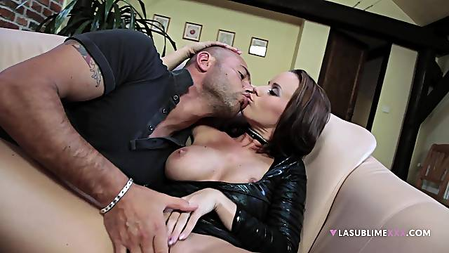 Whorish Cindy Dollar is only satisfied when dick is deep in her ass