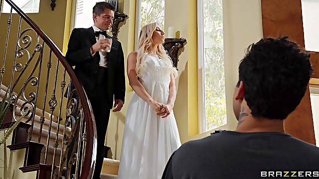 Bride to be gets one last chance to fuck with the best man