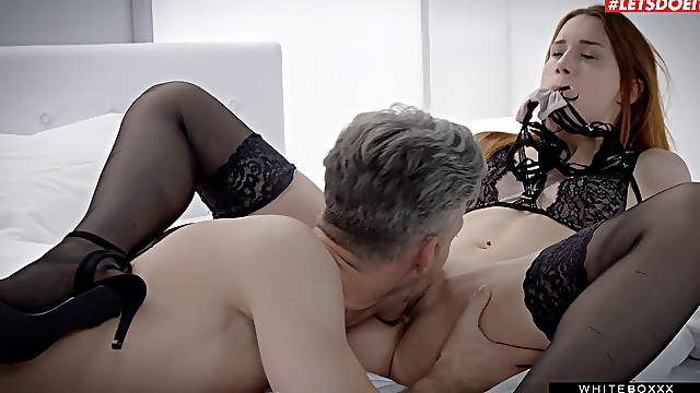 The way this foxy doll rides cock is insane