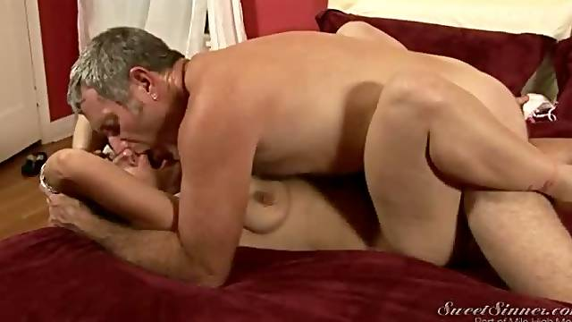 Older couple banging erotically in porn