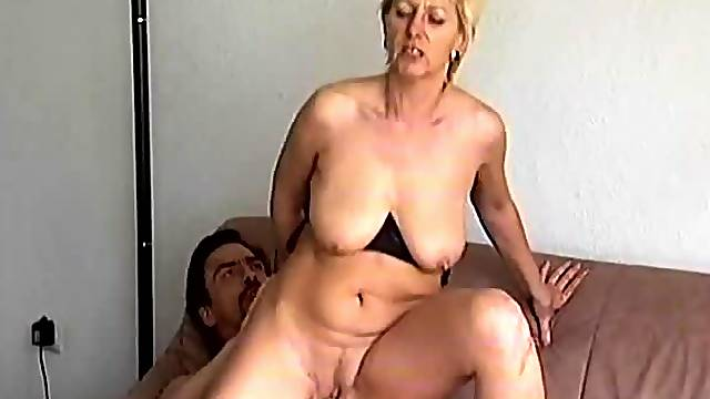 Crazy old mom gets fucked hard 2