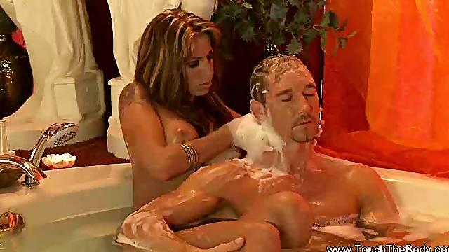 Turkish Massage From Erotic Blonde