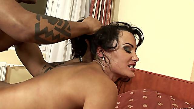 Nothing makes Lisa Ann as happy as getting her wet pussy drilled
