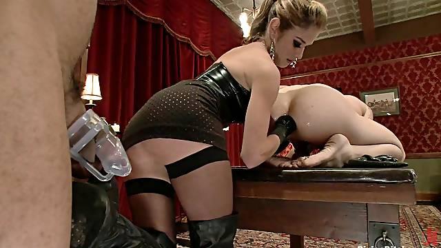 Bizarre female domination video