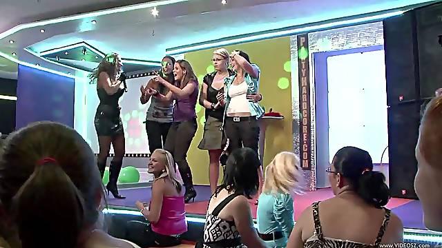 A fuckin' stripper contest of some sort