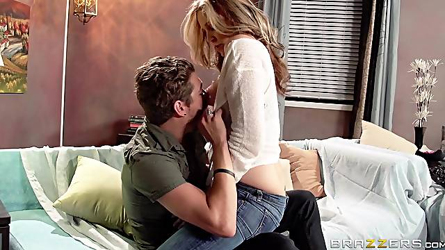 Mature chick Julia Ann wants to be fucked by her handsome neighbor