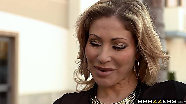 Wife Anita Bellini shares her husband's cock with Vittoria Risi