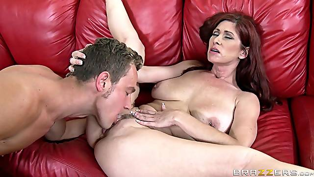 Tit fuck and and pussy pounding for adorable Tiffany Mynx