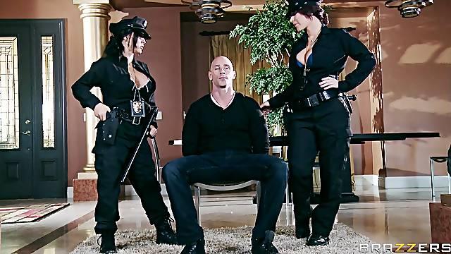 Kinky FFM threesome sex with Jayden James and Jenna Presley